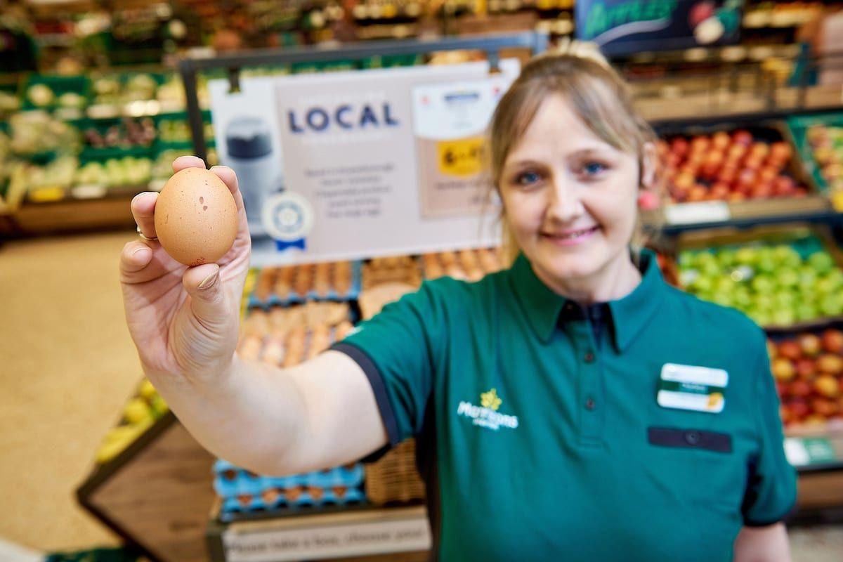 Morrisons is now only selling free range eggs - here's why