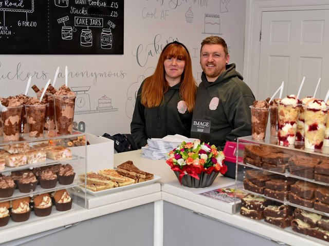 The military family have hit it off with their first family run business.