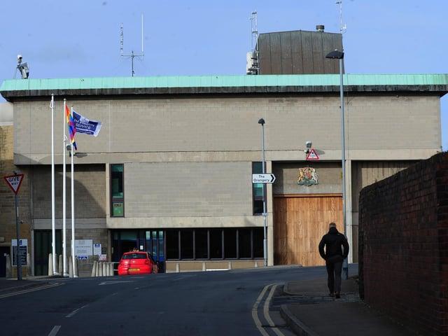 Bangunan Penjara Wakefield.