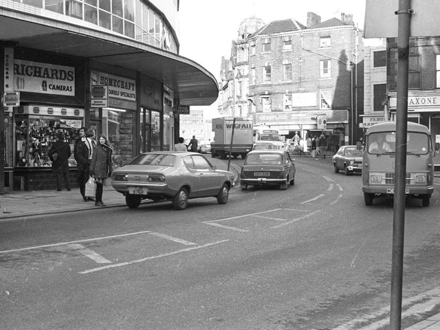 Old Westgate in the 1980s.