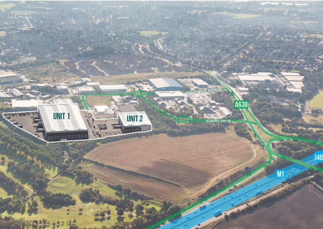 Work Starts On Two Warehouses That Will Create 500 Jobs Wakefield Express