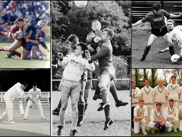 25 sporting pictures that will take you back to Pontefract and Castleford in the 1980s and 1990s