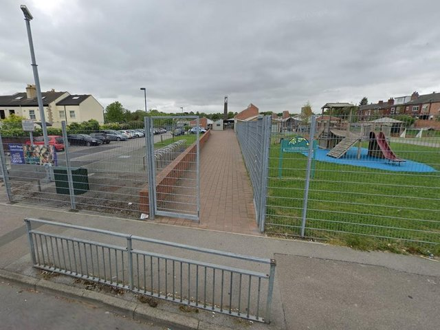 A Wakefield primary school has closed to pupils in four year groups after contractors discovered large amounts of rot in the school's roof. Photo: Google Maps