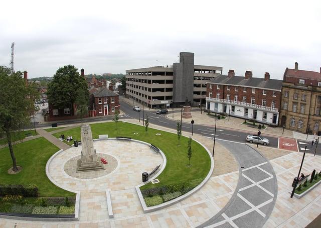 Civic Quarter in Wakefield