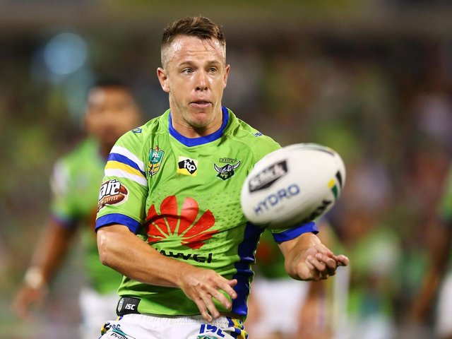 Canberra Raiders player Sam Williams. Picture: Mark Nolan/Getty Images