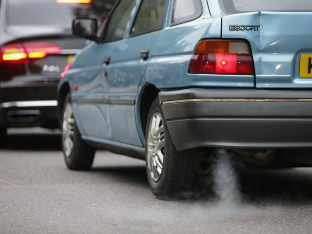 Leaving an engine running while the car is stationary is technically an offence, although very few councils enforce it.