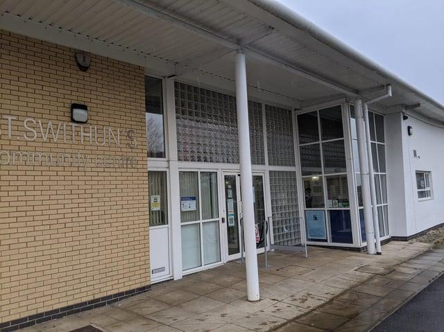 St Swithun's Community Centre in Eastmoor