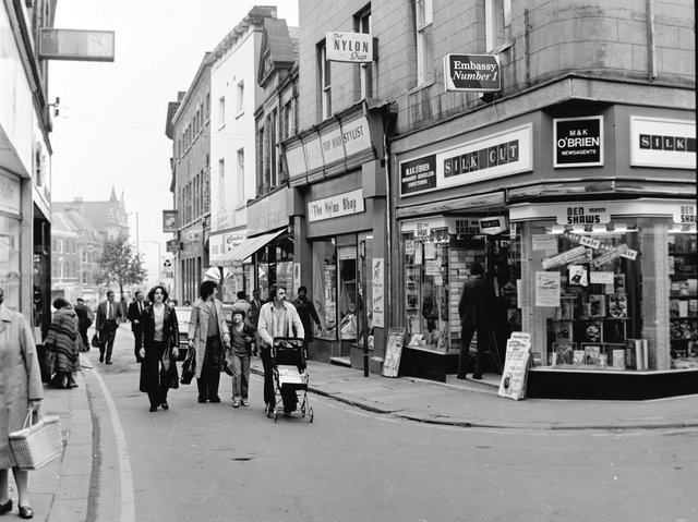 Do you recognise anything from Silver Street in 1980?