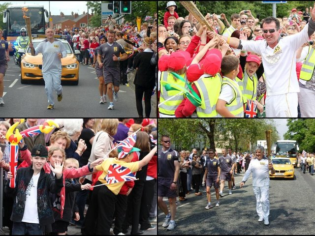 In pictures: 24 snaps show the day that the London 2012 Olympic torch passed through Wakefield, Pontefract and Castleford