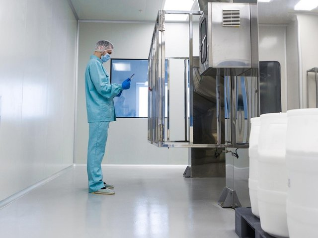 A Pontefract company has developed a 'game changing' new anti-bacterial coating which has been certified to safeguard against Covid-19. Photo: Resincoat