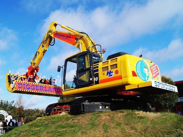 Castleford's Diggerland Yorkshire Theme Park will reopen next month, it has been confirmed. Photo: Diggerland UK