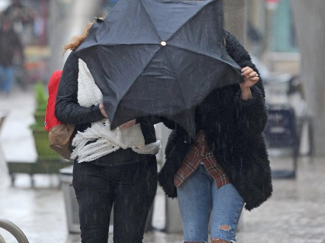 A yellow weather warning has been issued for Wakefield this week as strong winds and heavy showers are expected.