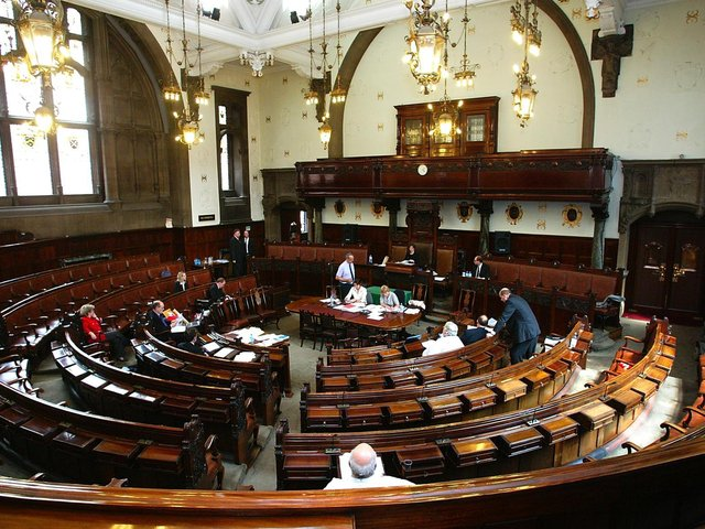 Wakefield's council chamber