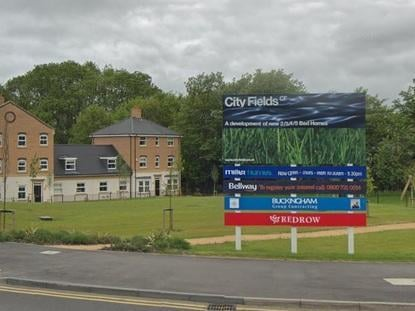 The City Fields development on the eastern side of Wakefield is one of the biggest new sprawling estates in the district.
