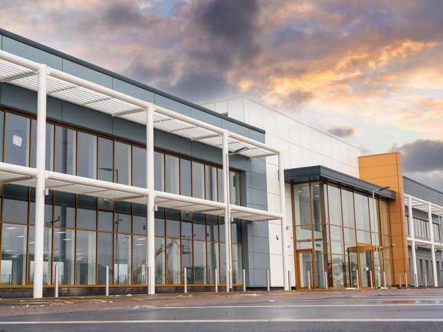 A new £5m office block is set to open in Wakefield, providing a new regional office for Highways England. Photo: Clegg Construction