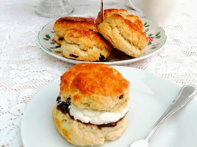 Karen Wright's delicious scones