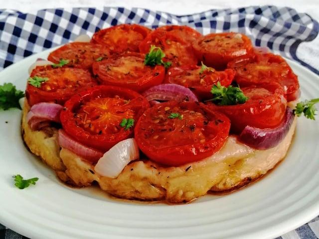 Karen Wright's Tomato Tatin