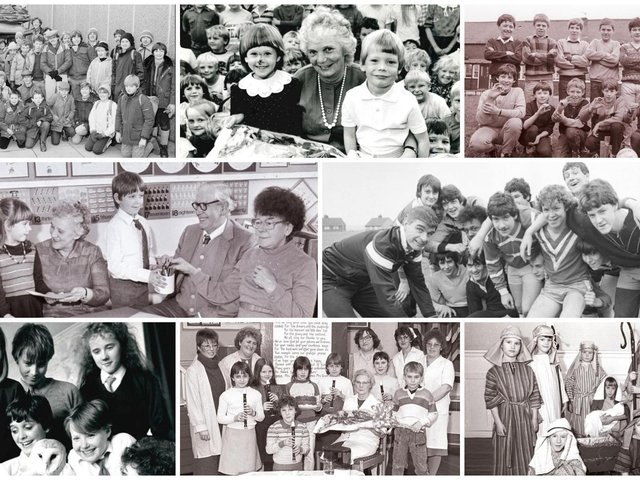Do you recognise yourself, any of your old schoolfriends or teachers?