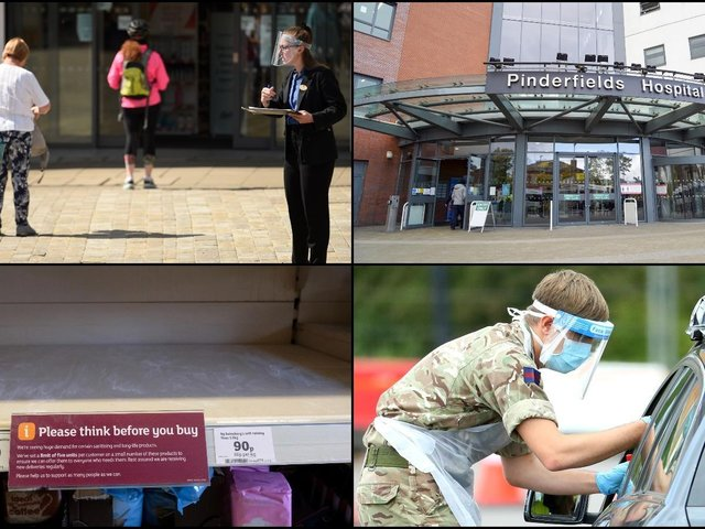 As the first anniversary of lockdown and the coronavirus pandemic arrives, we take a look back at the first few weeks of Covid-19 in Wakefield, Pontefract and Castleford.