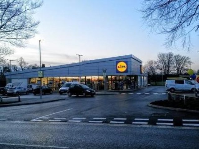 Lidl in Knottingley