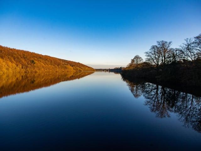 Yorkshire Water's Lindley Wood Reservoir.