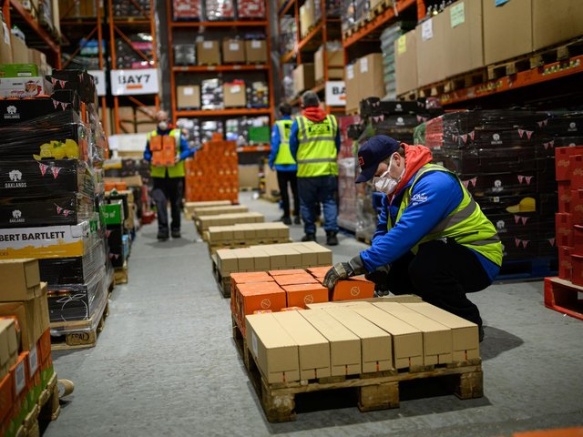 Manufacturing and distribution industries have continued work during the third lockdown. The sector is a big employer for people in the Wakefield district.