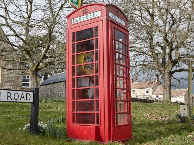 Only a handful of red phone boxes remain unadopted.