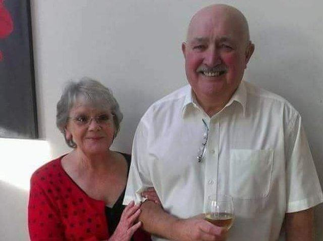 Ivor with wife Yvonne