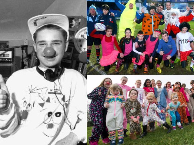 Red Nose Day is back again - and we're taking a look at pictures of Comic Relief fundraisers in Wakefield and the Five Towns from the past