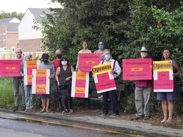Campaigners fought avidly against the plans.