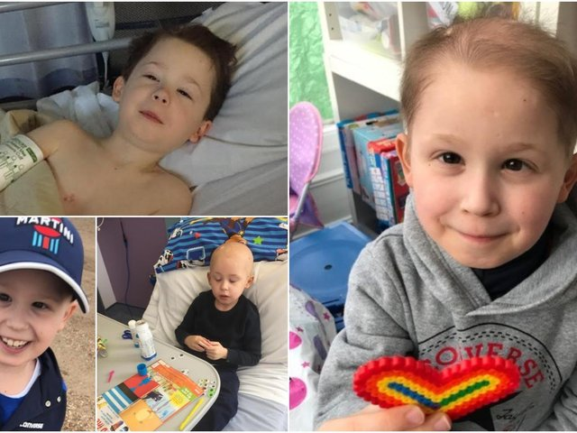 This research is crucial to help children like Leighton Moorhouse who was just six when he was diagnosed with a brain tumour.