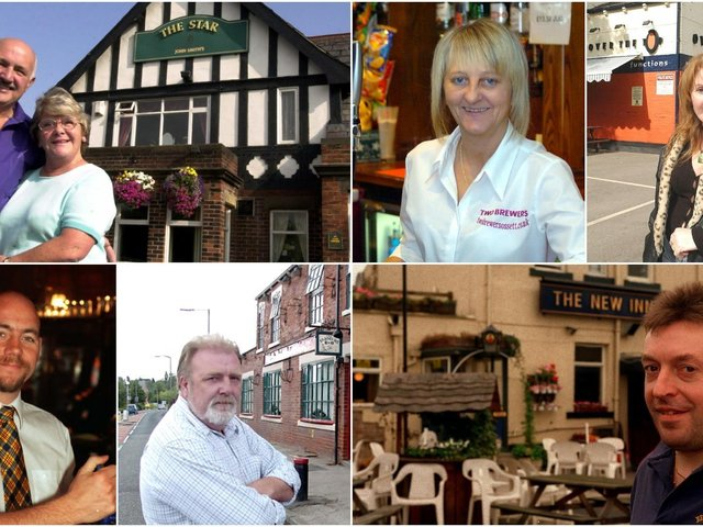 These landlords and landladies of our locals have served thousands of pints between them.