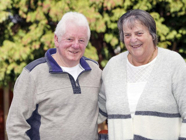 Barbara and John Law will celebrate their wedding anniversary on Saturday, marking exactly 50 years since they first tied the knot.