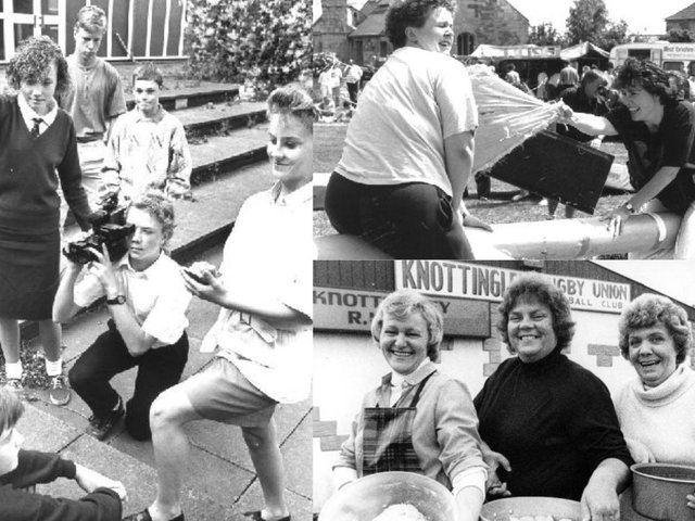 It's that time of the week where we take a look back at Pontefract and Castleford back in the glory days - can you spot anybody you know?