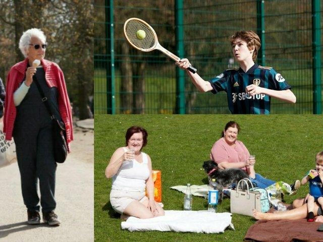 This week the people of Wakefield traded their winter woollies for springtime shorts and enjoyed a fun day in the sun...