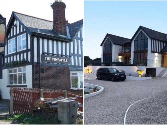 Planning permission hasbeen granted to transform a former pub car park into an underground house.