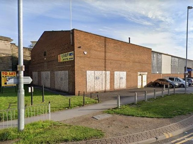 The former engineering business on Calder Vale Road.