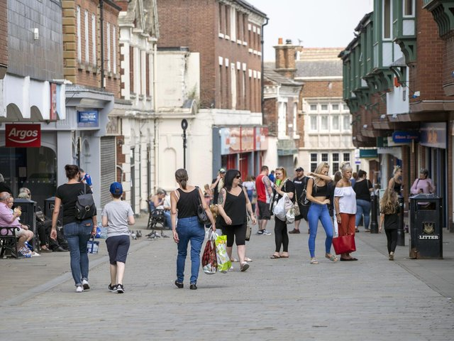 TOWN CENTRES: Support needed as restrictions are lifted.