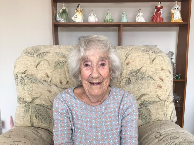 Irene Brook who is 100 years old on Monday