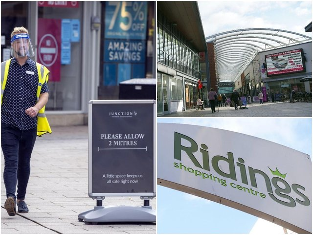 Lockdown easing: These are all the shops reopening at Wakefield's Trinity Walk, The Ridings and Junction 32 shopping centres from Monday