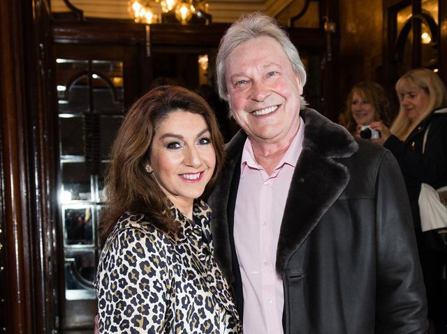 The stars of Loose Women have led tributes to Eddie Rothe, the long term partner of TV presenter Jane McDonald, after his death from lung cancer. Photo by Jeff Spicer/Getty Images