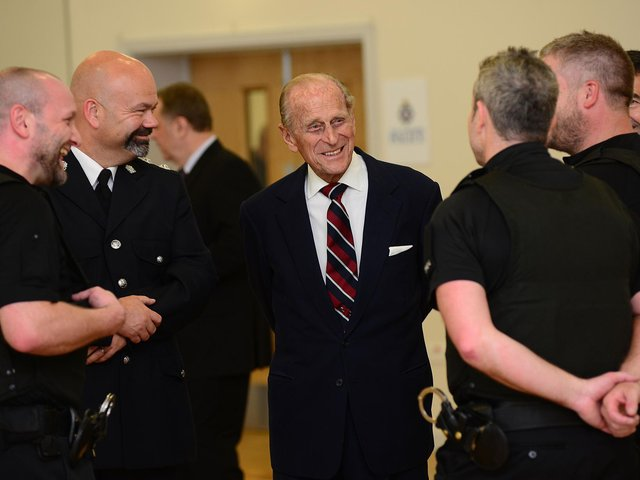 Flags on all Wakefield Council buildings are to be flown at half mast for the foreseeable future, as a mark of respect following the death of Prince Philip. The Duke of Edinburgh is pictured during a visit to Wakefield in 2015.