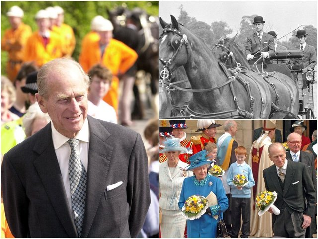 As it is announced  that Prince Philip has died at the age of 99, we take a look back at some of the times he paid a visit to the Wakefield district.