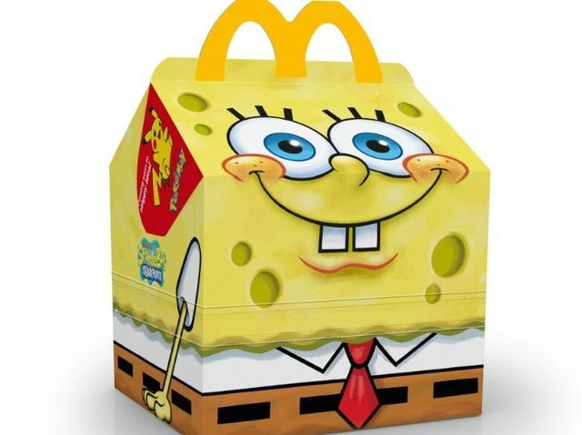 McDonald's has announced the launch of the brand new SpongeBob Squarepants Happy Meal - available this week!