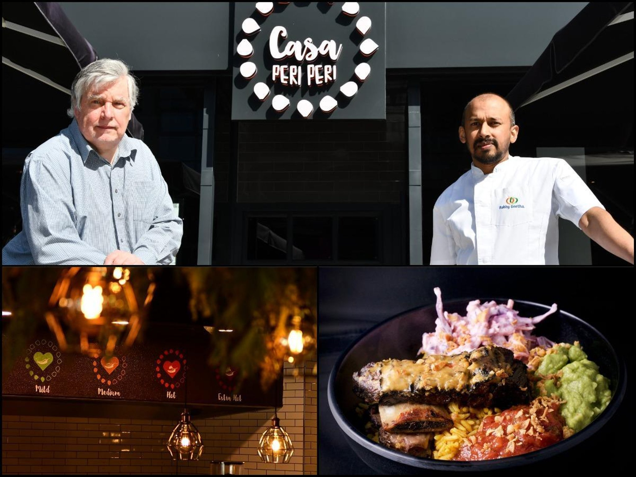 Peri peri chicken, slow cooked beef and spicy rice on offer at new Wakefield restaurant by MasterChef contestant