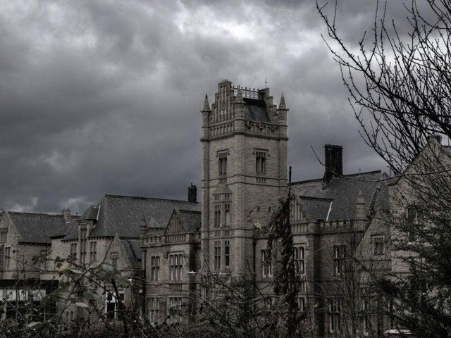 The hospital has been derelict since 2012.