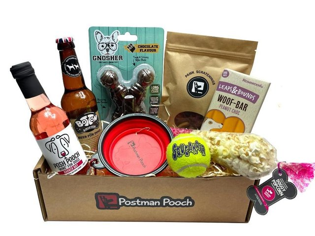 The PubGrub box costs under £25 and you can mix and match these pawsome treats with a variety of drinks and treats to please your furry friends taste buds.