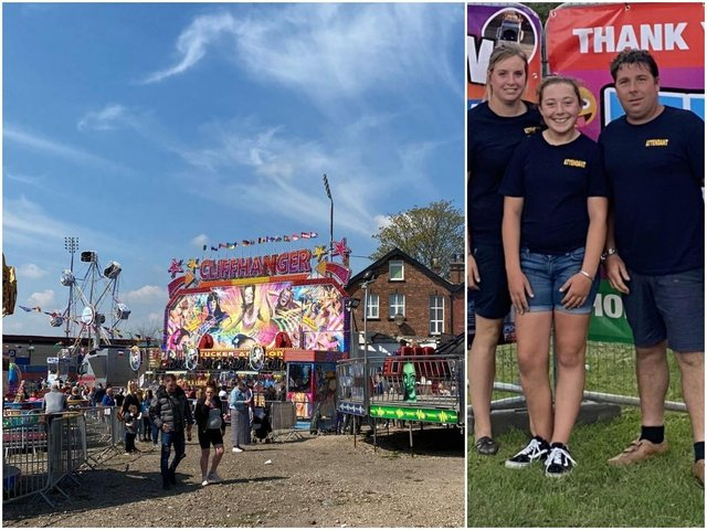 A funfair operator has apologised to Wakefield families who were turned away from the city's funfair after it closed for Prince Philip's funeral. Photo: Tuckers Funfair