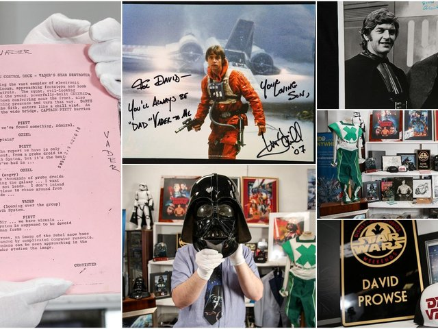 The collection has been described as a ''Star Wars collectors dream'' and will be sold on May 4th - (be with you).