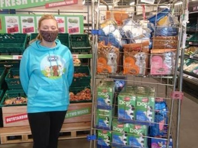 Wakefield Jack's Supermarket has kindly donated a variety of pet food, treats and chews to RSPCA Wakefield.